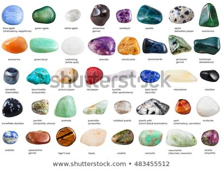 Ametist mineral doku güzel doğal ışık Stok fotoğraf © jonnysek