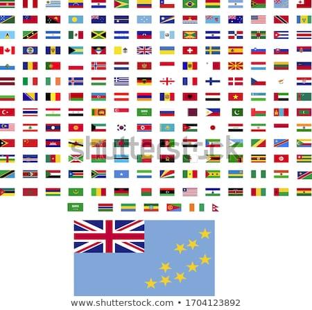 Alemanha Tuvalu bandeiras quebra-cabeça isolado branco Foto stock © Istanbul2009