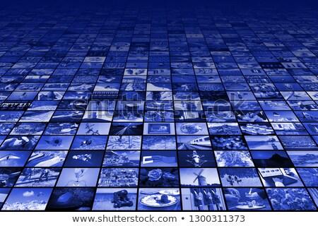 many screens on wall Stock photo © Paha_L
