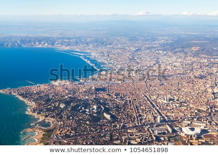 aerial view of Marseille in France  Stock photo © meinzahn