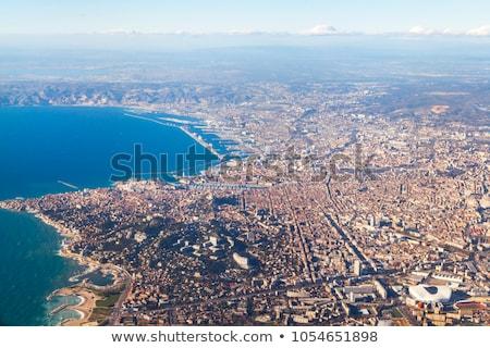 Légifelvétel Marseille Franciaország víz természet vakáció Stock fotó © meinzahn