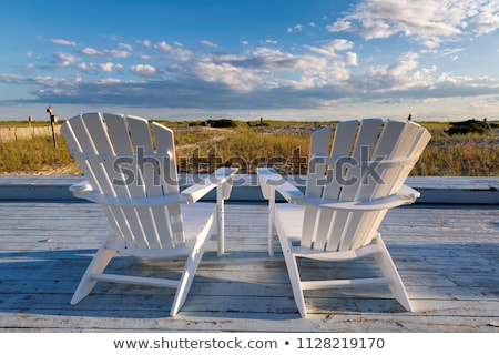 Sunset in the sand dunes beach on the Cape Cod National Seashore Stock photo © CaptureLight