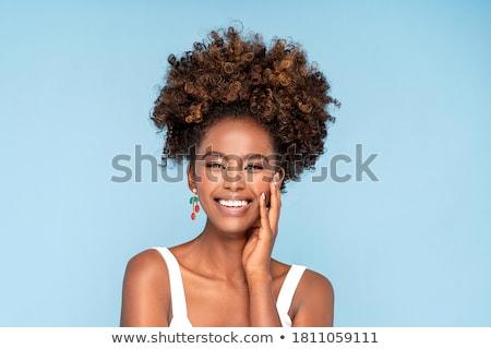 クローズアップ ショット 女性 唇 フル ストックフォト © igor_shmel