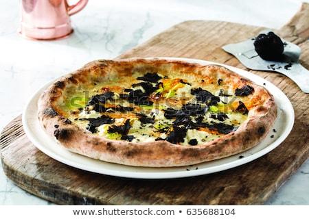 Foto d'archivio: Nero · salame · pezzi · alimentare · carne