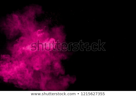 розовый · дым · небе · огня · фон · льда - Сток-фото © ruslanomega