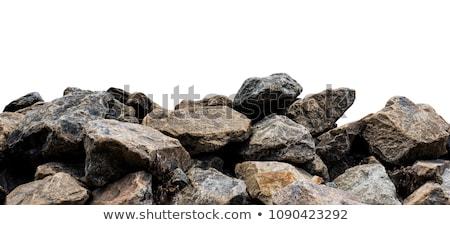 Katı kaya dizayn 10 çiçek çapraz Stok fotoğraf © sdCrea