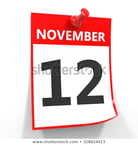 12th november stock photo © oakozhan