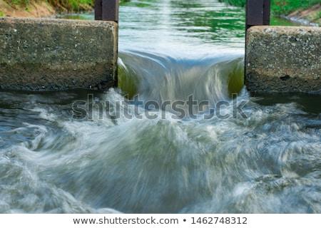 sluice gate stock photo © hamik