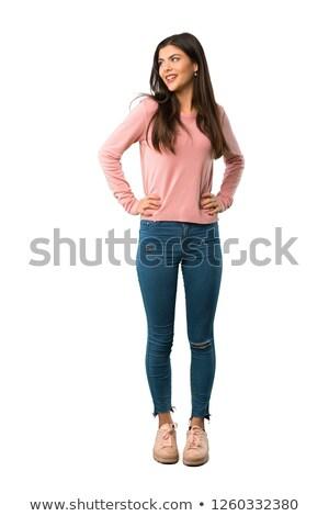 Teen Girl Standing stock photo © dtiberio
