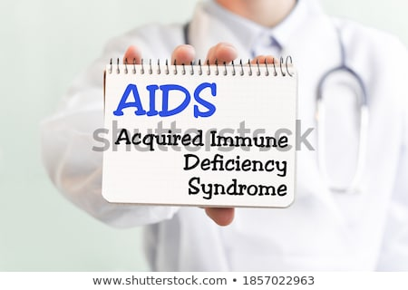 Acquired Immune Deficiency Syndrome AIDS Stock photo © ivelin