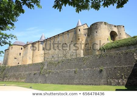 城 セダン ヨーロッパ 構造 表示 古代 ストックフォト © njaj