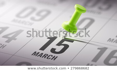 15th March Stock photo © Oakozhan