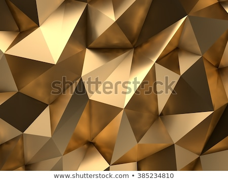yellow low poly abstract background Stock photo © SArts