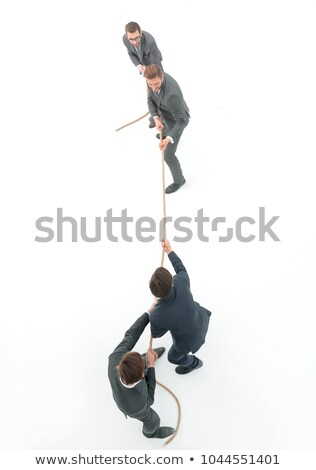 Business people playing tug of war Stock photo © IS2