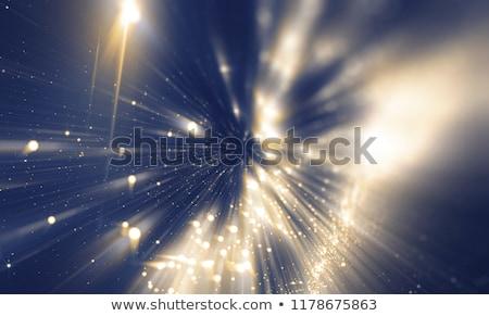 soft blue bokeh defocused light effect background Stock photo © SArts