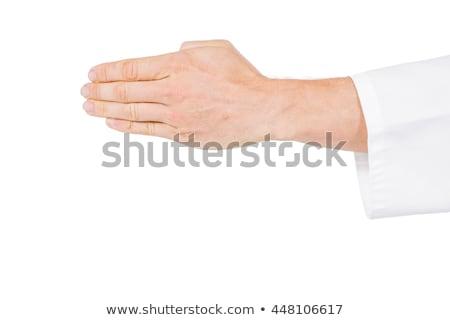 Karate speler houding fitness Stockfoto © wavebreak_media