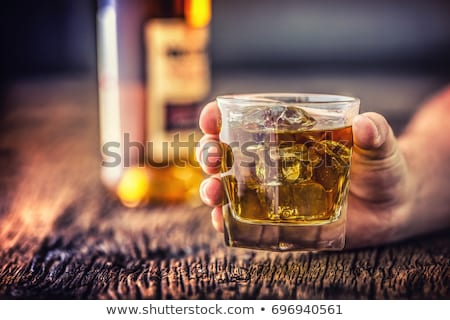 Man with the problem of alcohol Stock photo © adrenalina