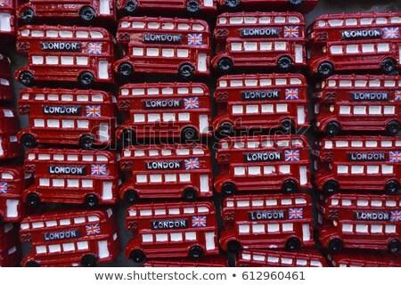 Londen weg reizen bus buitenshuis niemand Stockfoto © IS2