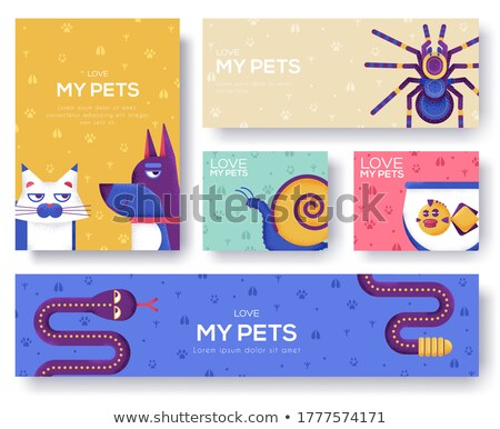 cute · rat · blij · gezicht · illustratie · gelukkig · muis - stockfoto © robuart