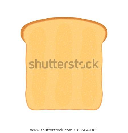 新鮮な パン トースト 朝食 漫画 スタイル ストックフォト © doomko