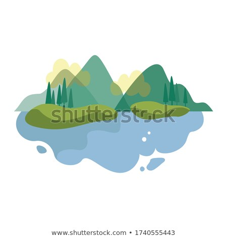 Bergen landschap panorama mooie zomer Stockfoto © blasbike