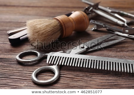 Barber Shop and Hair Styling Posters Hairdresser Stock photo © robuart