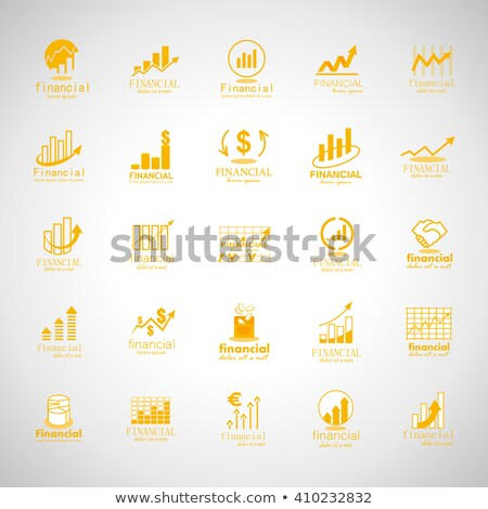 Scaling Business Financial Statistics with Charts Foto d'archivio © robuart
