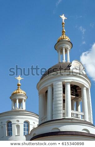 Church of the Theotokos icon of Blachernae in Kuzminki, Moscow,  Stock photo © borisb17