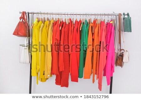 Zes verschillend kleuren illustratie achtergrond kunst Stockfoto © bluering