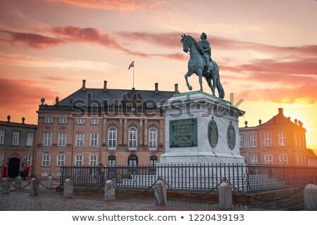 Amalienborg Cepenhagen Denmark Stock photo © vichie81