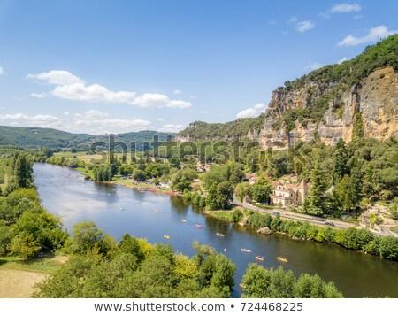 La dorp Frankrijk een mooie noorden Stockfoto © borisb17