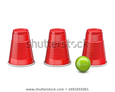 Powłoki gry trzy czerwony zielone Zdjęcia stock © djmilic