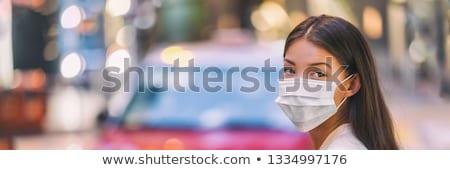 Coronavirus openbare gezondheid ziekte banner medische Stockfoto © SArts