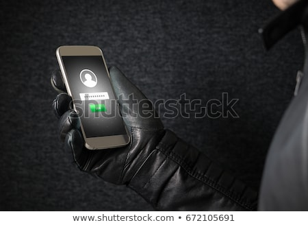 Mobile Phone Fraud Crime Stock photo © AndreyPopov
