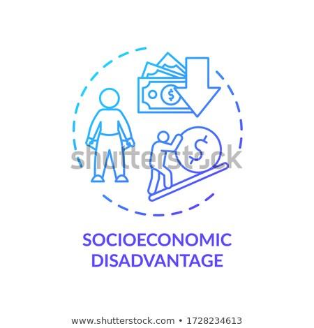 Recettes résumé pays distribution financière sexe Photo stock © RAStudio