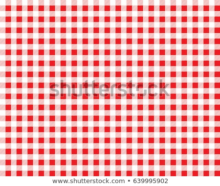 wool red white square texture Stock photo © Paha_L