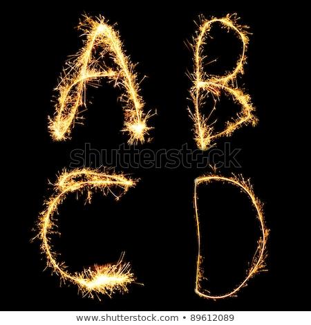 alfabet · brylant · zobaczyć · inny · litery · mój - zdjęcia stock © Paha_L