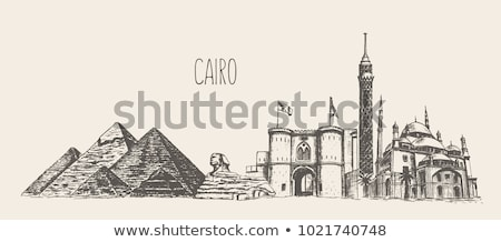 cairo old town in egypt stock photo © travelphotography