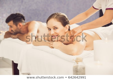 fair-haired woman waiting for massage Stock photo © photography33