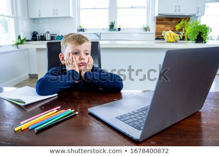 Child in school bored Stock photo © photography33