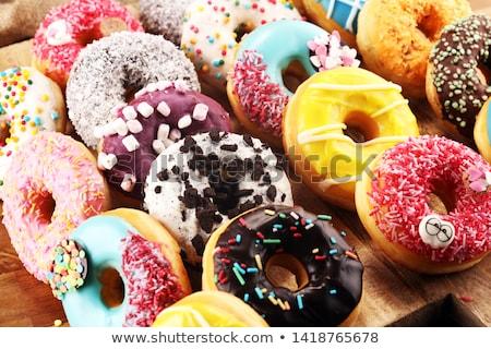 świeże żywności słodkie piekarni Zdjęcia stock © M-studio