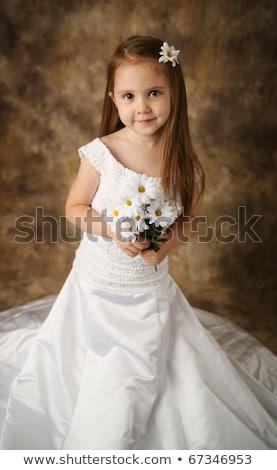 bridesmaid or flowergirl dress for a wedding Stock photo © leeavison