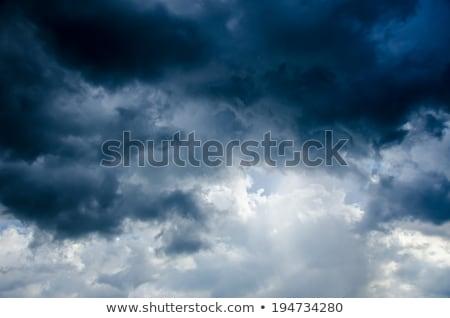 égbolt zivatar felhők természet fény kék Stock fotó © Ionia