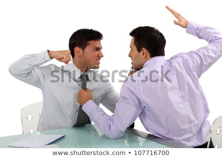 Two businessmen coming to blows Stock photo © photography33