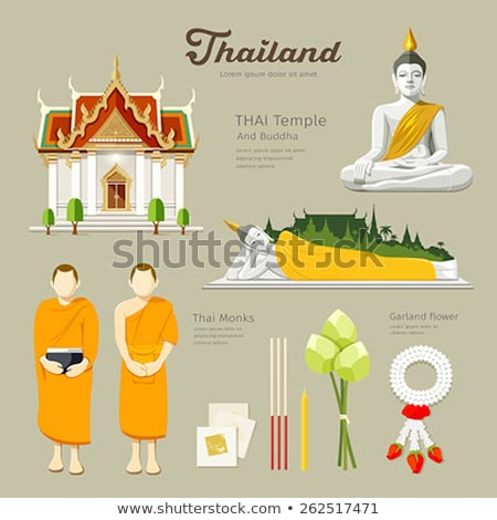 Incenso tempio Thailandia asian Asia Foto d'archivio © travelphotography