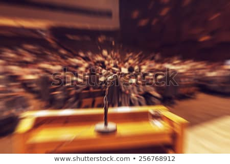 Stage Fright Stock photo © cteconsulting