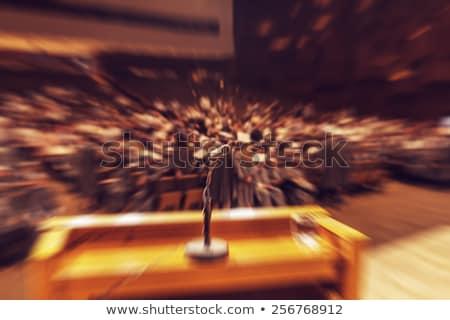 этап испуг человека нервный месте заседание Сток-фото © cteconsulting