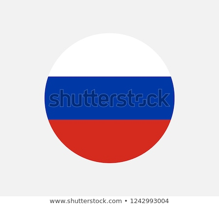 Россия · флаг · кнопки · вектора · стекла - Сток-фото © maxmitzu