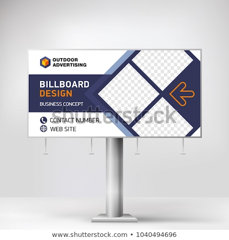 Marke · Wort · Billboard · Werbung · Marketing · Nachricht - stock foto © tashatuvango