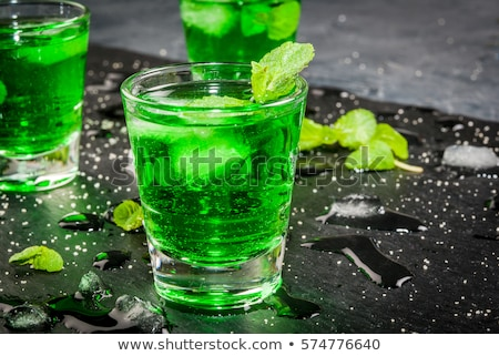 mint liquor Stock photo © M-studio